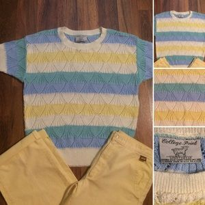 🔴2/$10 or 5/$20 Vintage 70s Acrylic Knit Sweater